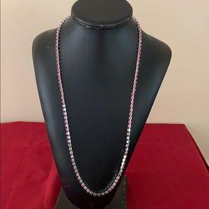 Pink women's chain
